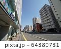 札幌 国道12号 街風景(大通東4丁目サッポロファクトリー フロンティア館付近) 64380731