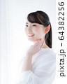 ビューティーイメージ(若い女性、スキンケア、ヘルスケア 64382256