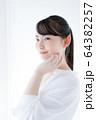 ビューティーイメージ(若い女性、スキンケア、ヘルスケア 64382257