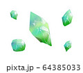宝石緑色 64385033
