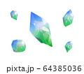 宝石青色×緑 64385036