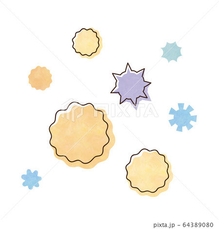 花粉とウィルス 64389080