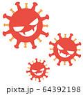 コロナウイルスのイメージ 64392198