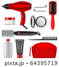 Vector Hair Styling Icons Set 2 64395719