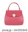 Vector Pink Female Handbag 64395840