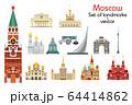 Moscow skyline vector 1 64414862
