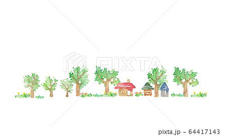 郊外の風景 64417143