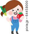 二頭身_農作業A01 64458000