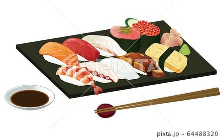 寿司 イラスト 64488320