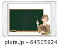 オンライン授業 64505924