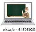 オンライン授業 64505925