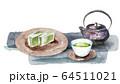 日本茶と羊羹 64511021