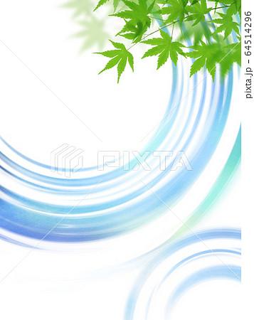 背景-夏-水面 64514296