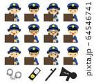 警察官 PC 入力 64546741