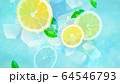 背景-レモン-ソーダ 64546793