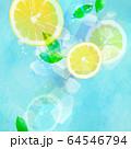 背景-レモン-ソーダ 64546794