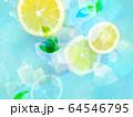 背景-レモン-ソーダ 64546795