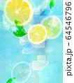 背景-レモン-ソーダ 64546796