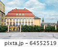 Royal Palace Baroque style architecture in Wroclaw, Poland 64552519