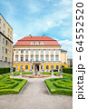 Royal Palace Baroque style architecture in Wroclaw, Poland 64552520