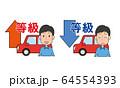 自動車保険 等級 アップ ダウン 64554393