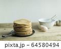 パンケーキ 64580494