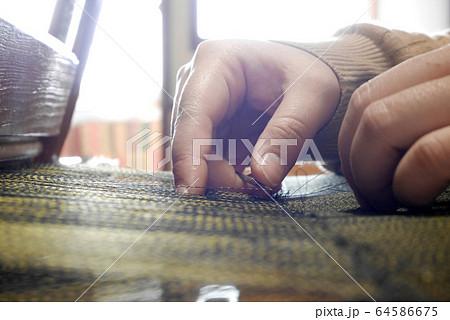 奄美大島 大島紬 機織り 織工 体験 実演 観光 64586675