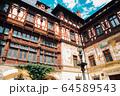 Peles Castle in Sinaia, Romania 64589543