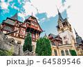 Peles Castle in Sinaia, Romania 64589546
