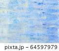抽象的背景素材 青色系 壁の塗装風(イメージ) 64597979