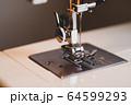 家庭用ミシン 手元ライト点灯 d-2 マット仕上げ 64599293