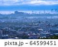 《東京都》自粛ムード・霧に包まれた東京 64599451