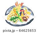 天ぷら盛り合わせ 64625653