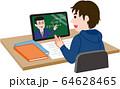 オンライン授業 64628465
