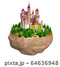 岩の上のヨーロッパの城 64636948