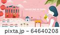 Taipei tourism banner design 64640208