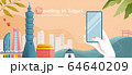 Taipei tourism promo banner 64640209