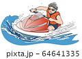 ジェットスキー 64641335