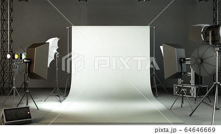 photo studio 3d rendering image 64646669