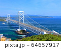 大鳴門橋と鳴門海峡 64657917
