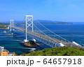 大鳴門橋と鳴門海峡 64657918