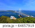 大鳴門橋と鳴門海峡 64657919