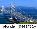 大鳴門橋と鳴門海峡 64657920