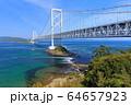 大鳴門橋と鳴門海峡 64657923