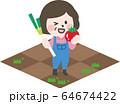 二頭身_農作業C03 64674422