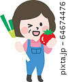二頭身_農作業C01 64674476