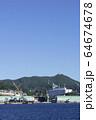 長崎の造船所のある風景 64674678