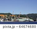 長崎の造船所のある風景 64674680