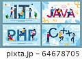 IT Programming Language and Web Development Set 64678705