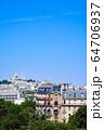 パリの街並み サクレクール寺院 フランス 64706937